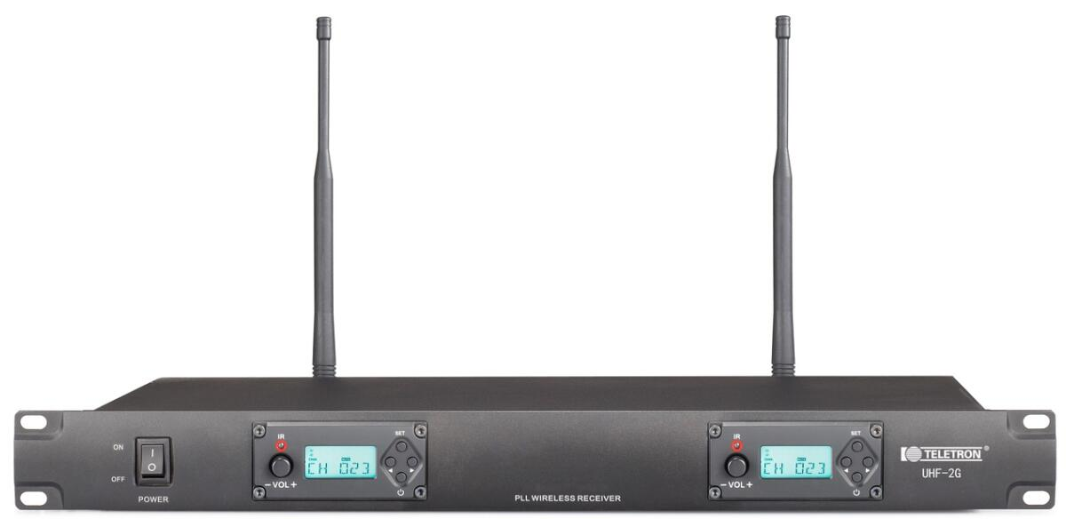 UHF-2G 無線接收機